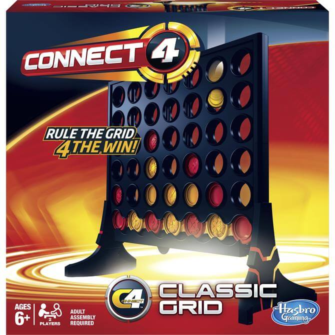 Hasbro Connect 4 Grid Game