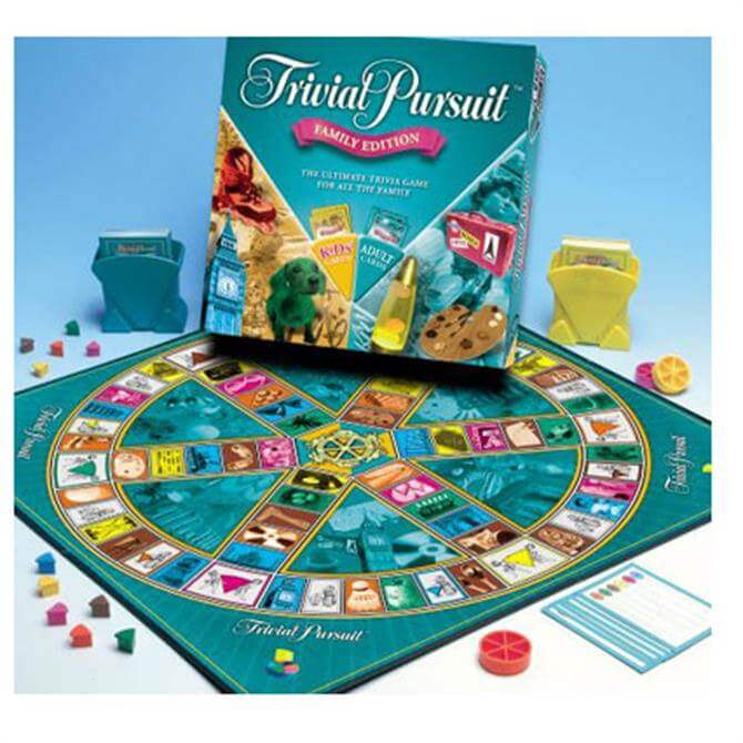 Hasbro Trivial Pursuit Family 73013