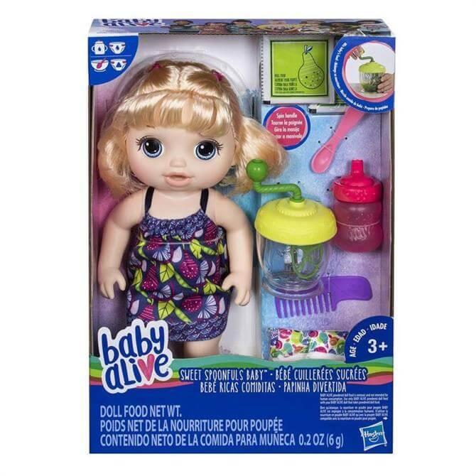 Hasbro Baby Alive Sweet Spoonfuls Baby Blonde
