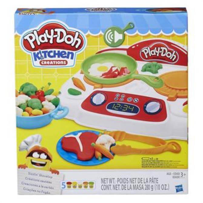 Hasbro Playdoh Kitchen Creations Sizzlin' Stovetop