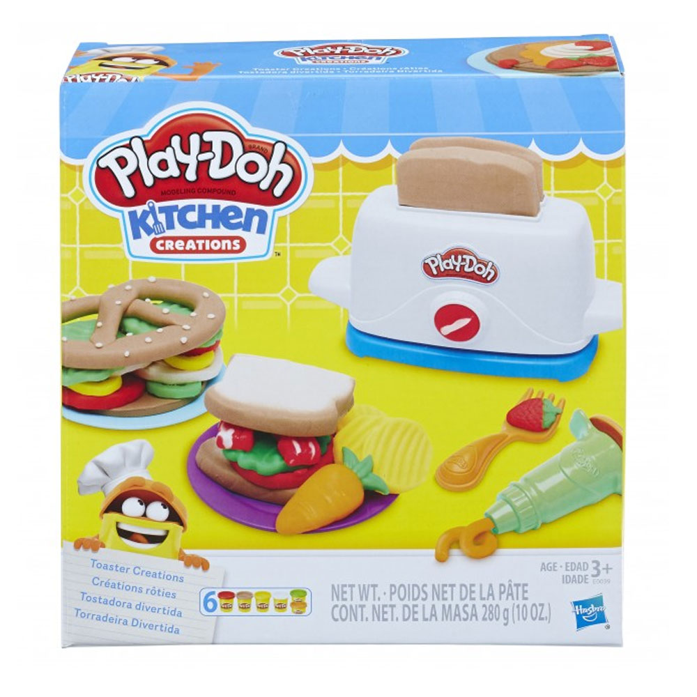 An image of Playdoh Toaster Creations