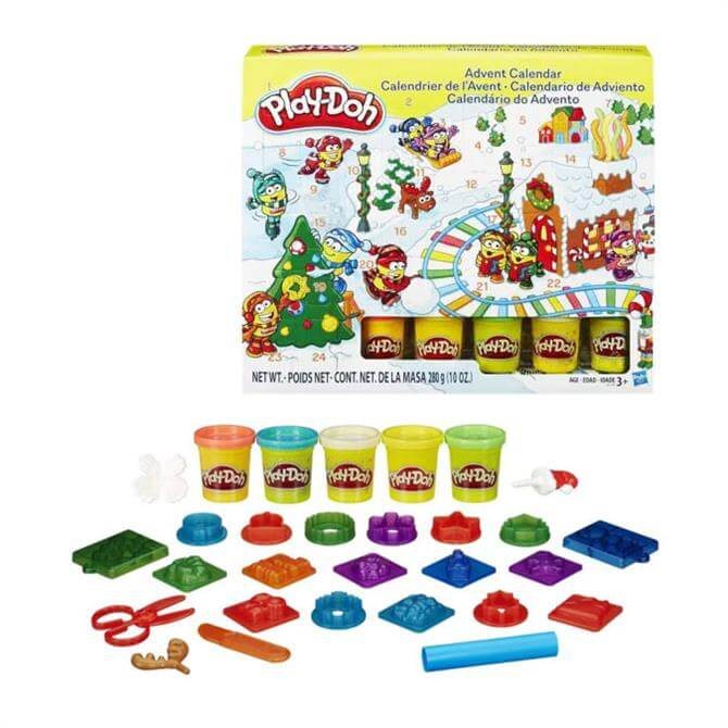 Playdoh Advent Calendar