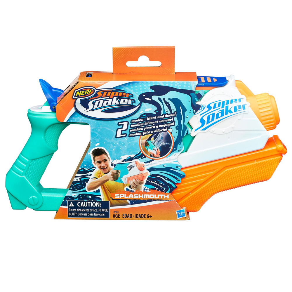 An image of Nerf Supersoaker Splashmouth