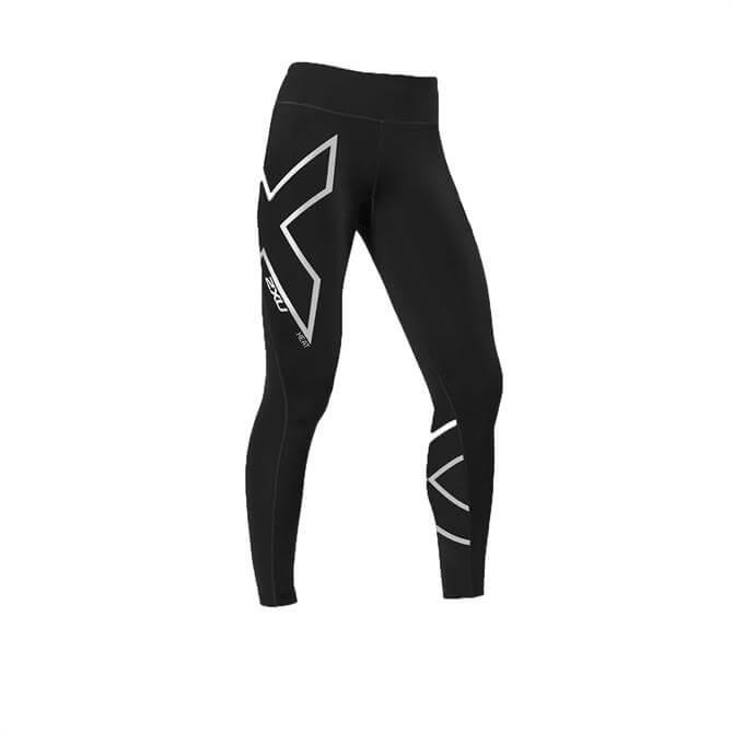 2XU Women's Heat Compression Tights- Black