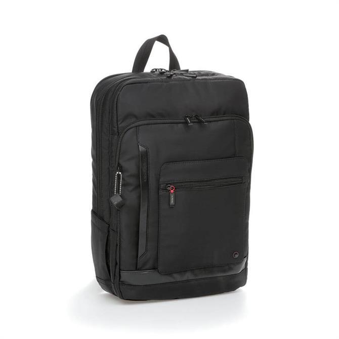 Hedgren Expel Sqaure Business Backpack - Black