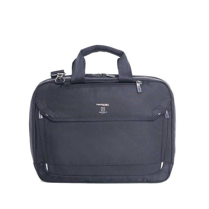 Hedgren Hitch Slim Three-Way Travel Briefcase - Black