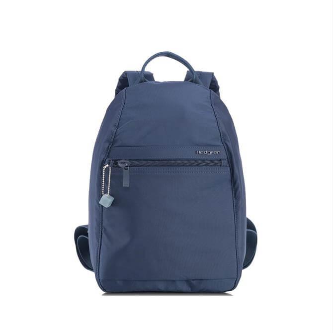 Hedgren Vouge Small Fashion RFID Backpack - Dress Blue