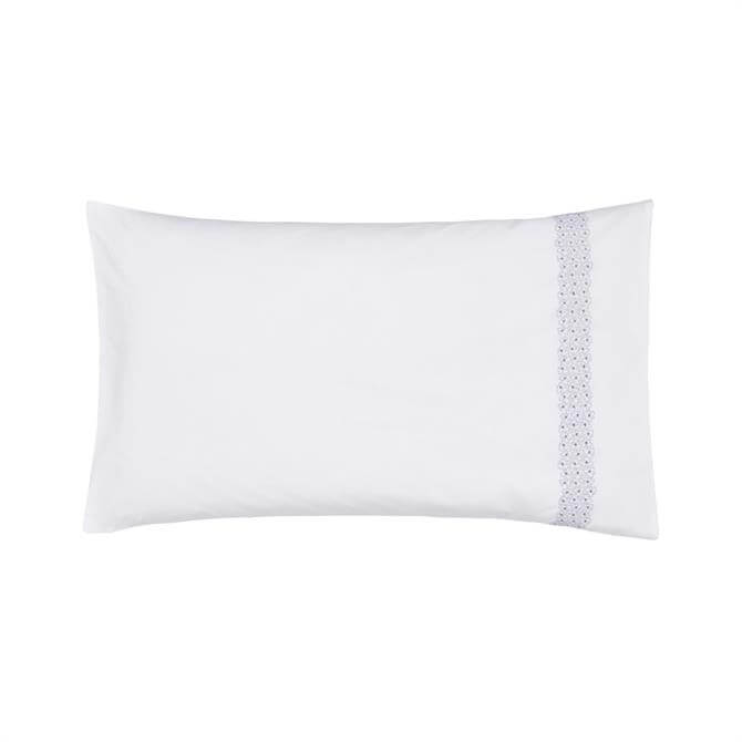 Helena Springfield Sylvie Lilac Housewife Pillowcase
