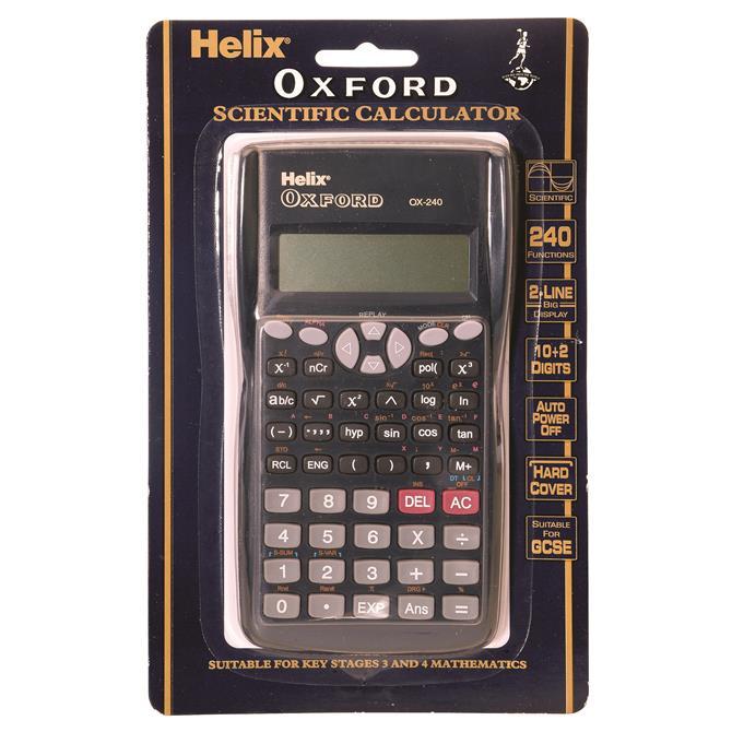 Helix Oxford Scientific Calculator