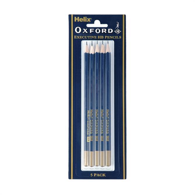 Helix Oxford Classic HB Pencil Set