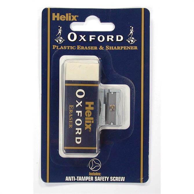 Helix Oxford Large Eraser and Sharpener