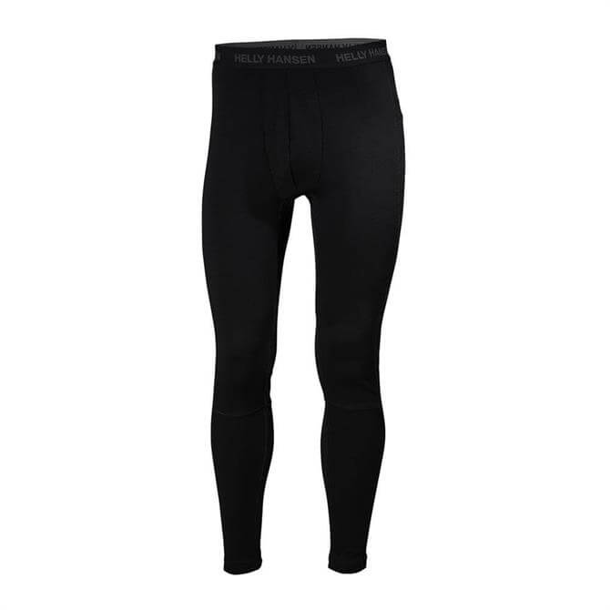 Helly Hansen Men's Lifa Merino Pant- Black