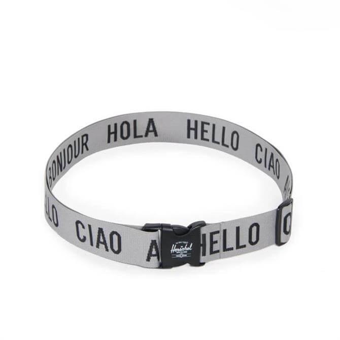 Herschel Luggage Belt- Heathered Grey