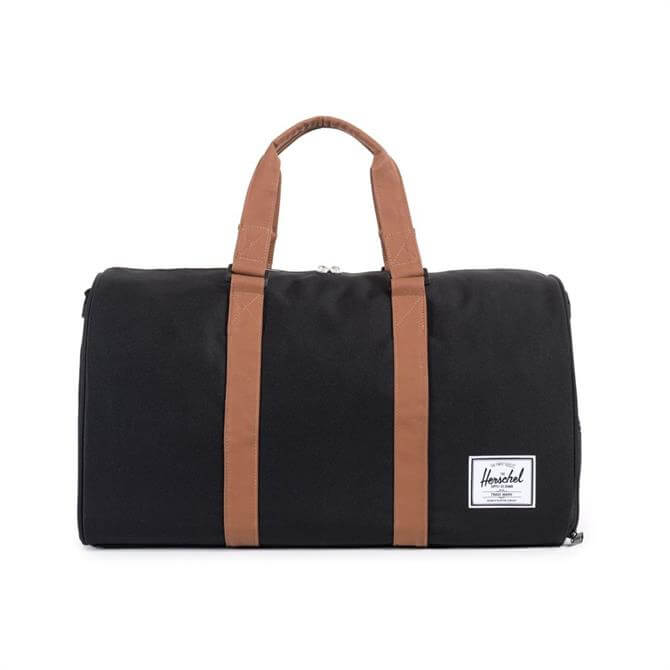 Herschel Novel Duffle Bag- Black Tan