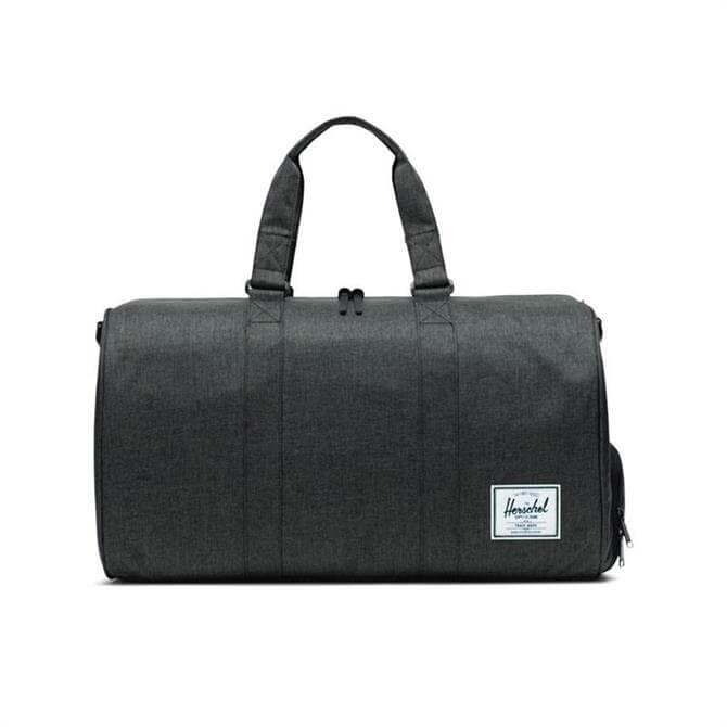 Herschel Novel Duffle Bag - Black Crosshatch