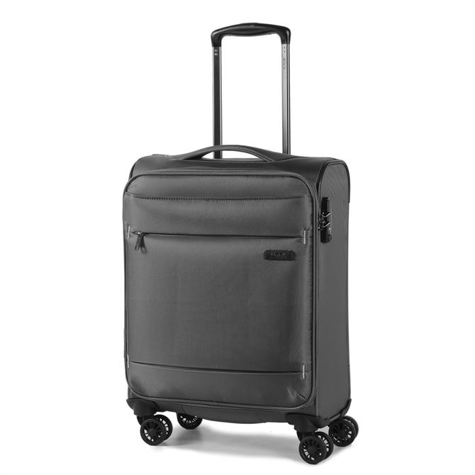 Rock Luggage Deluxe Lite Four Wheel Soft Side Suitcase