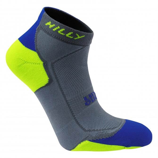 Hilly Men's Lite-Cushion Quarter Sock- Multi