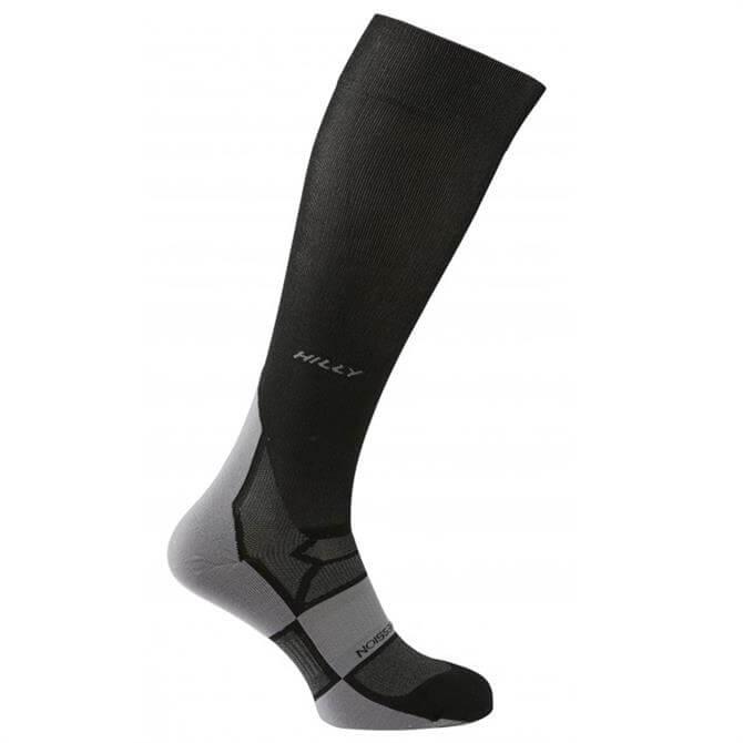 Hilly Pulse Compression Sock- Black