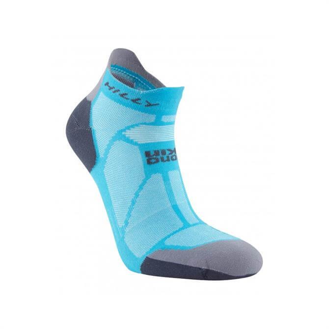 Hilly Women's Marathon Fresh Running Socklet - Peacock