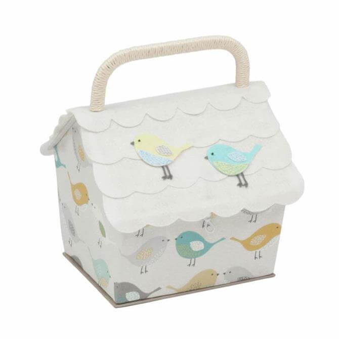 Birdhouse Sewing Box