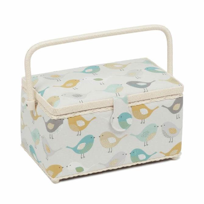 Deep Birds Sewing Box