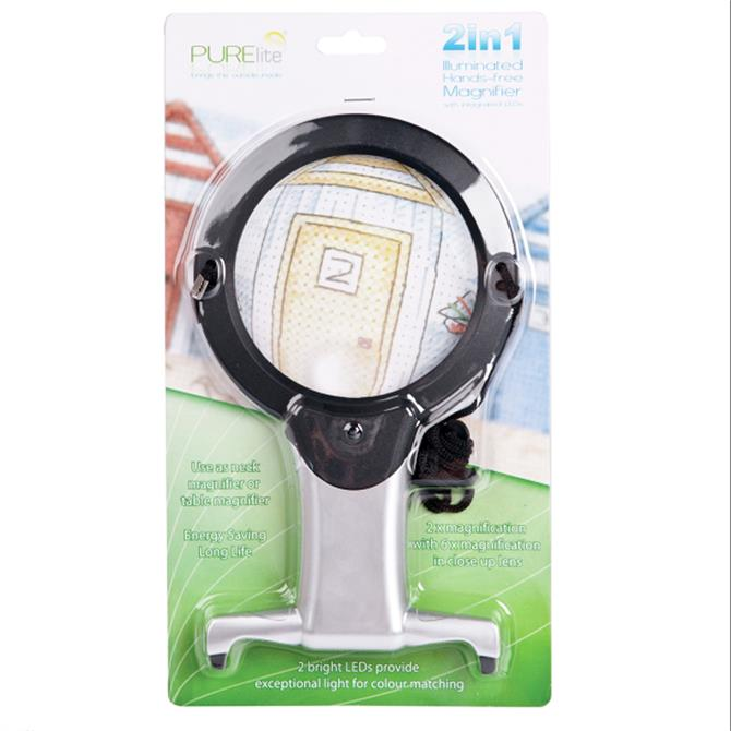 Hands Free Magnifier (LED)
