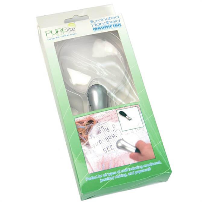 Illuminated Handheld Magnifier (LED)
