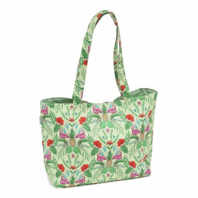 Tropical Lime Tote Craft Bag