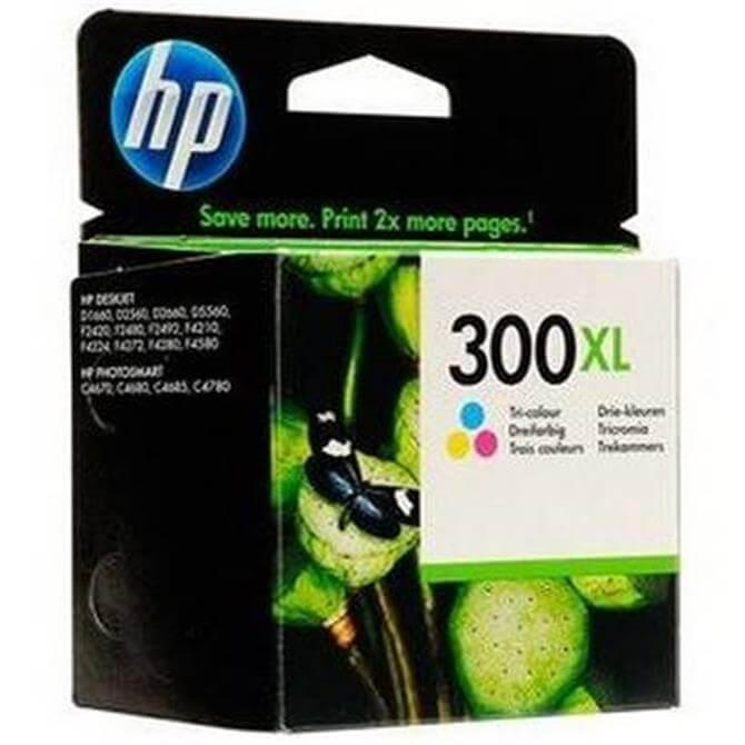 HP 300XL Tri Colour CC644EE