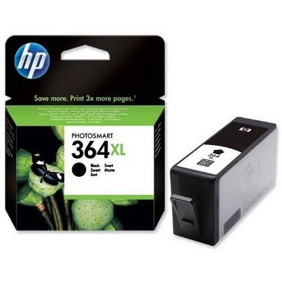 An image of HP 364 XL Individual Cartridges - BLACK