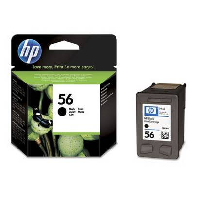 An image of HP 56 Black C6656A