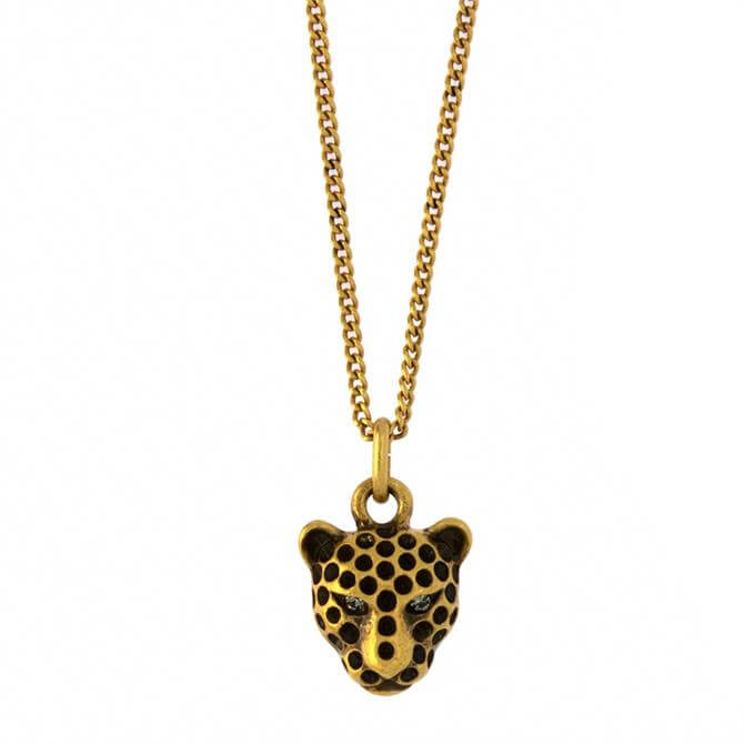 Hultquist Leopard's Head Necklace