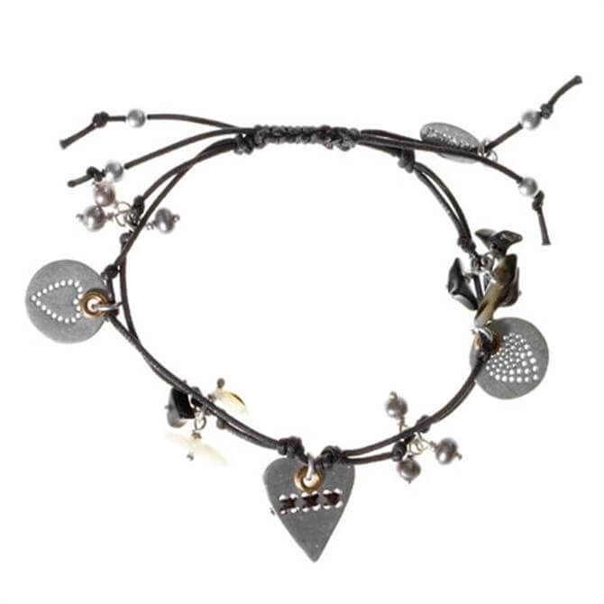 Hultquist Heart Charm Bracelet