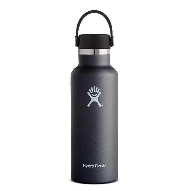 Hydro Flask 18oz Standard Mouth Insulated Water Bottle - Black