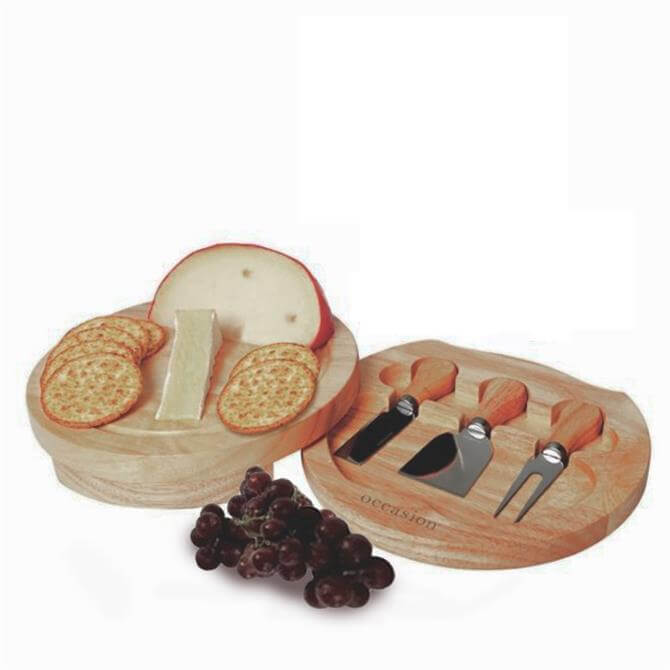 IC Occasion Round Cheeseboard Set