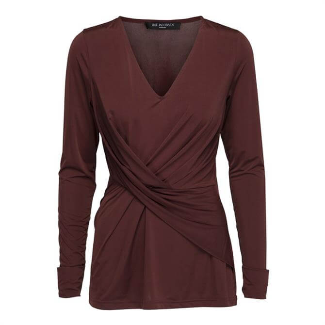 Ilse Jacobsen Emma Twisted Front Top