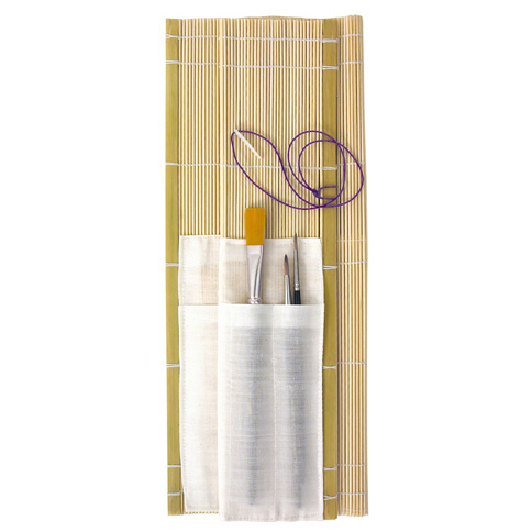 An image of Jakar Bamboo Brush Roll