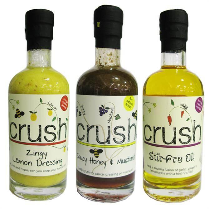 Crush Oils - Honey Mustard, Zingy Lemon & Stir Fry