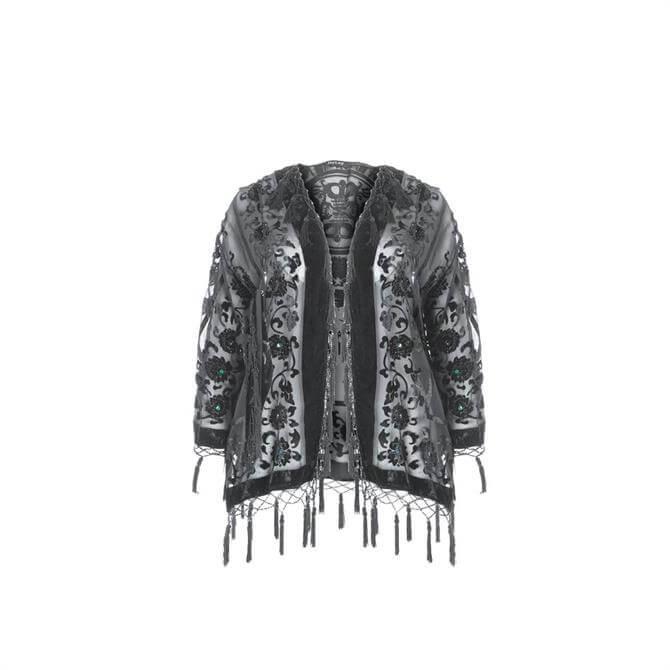 Jayley Silk Devore Jacket