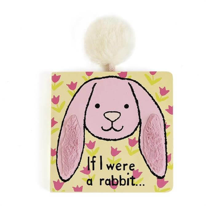 Jellycat If I Were A Pink Rabbit Board Book