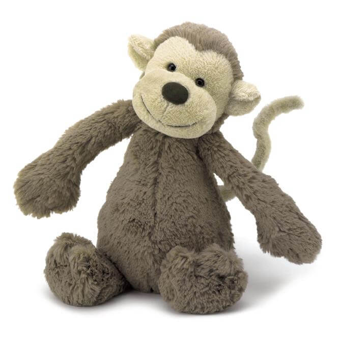 Jellycat Bashful Small Monkey