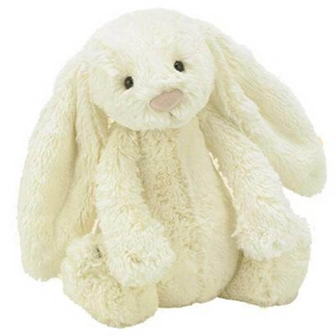Jellycat Medium Bashful Cream Bunny