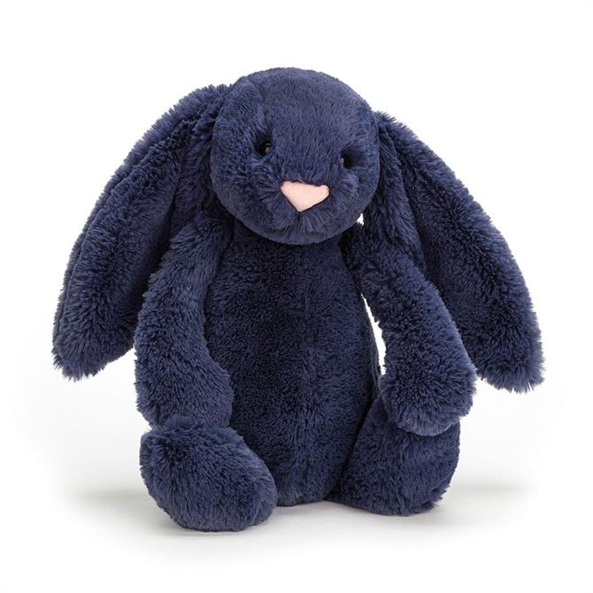 Jellycat Bashful Medium Navy Bunny
