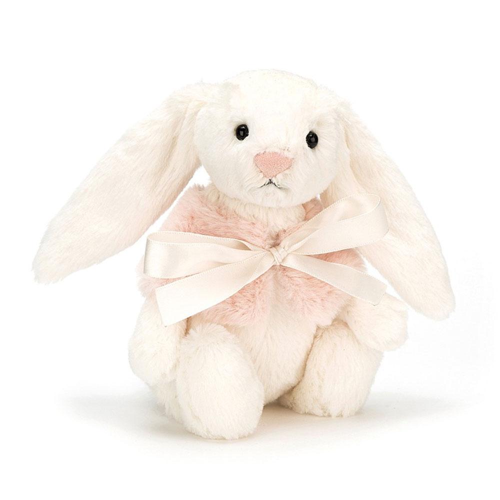 An image of Jellycat Bashful Cream Snow Bunny