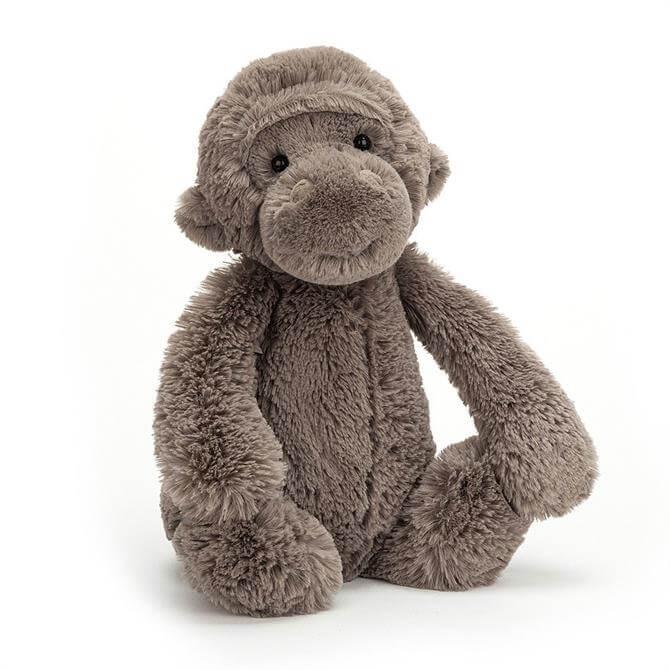 Jellycat Bashful Gorilla Grey Medium