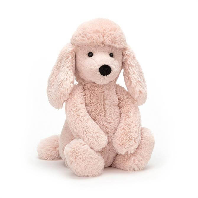 Jellycat Bashful Poodle Cream Medium