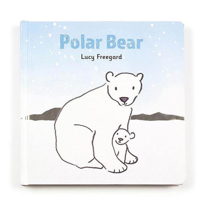 Jellycat Polar Bear Book