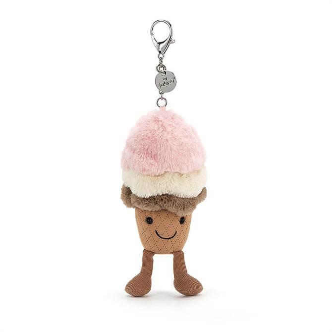Jellycat Amuseable Ice Cream Bag Charm
