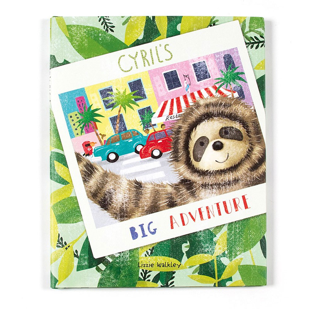 An image of Jellycat Cyrils Big Adventure Book