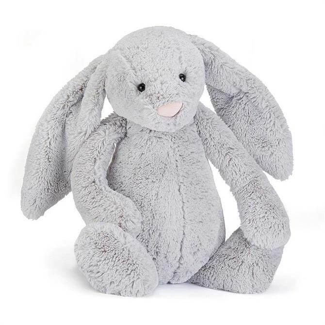 Jellycat Bashful Silver Bunny - Really Big